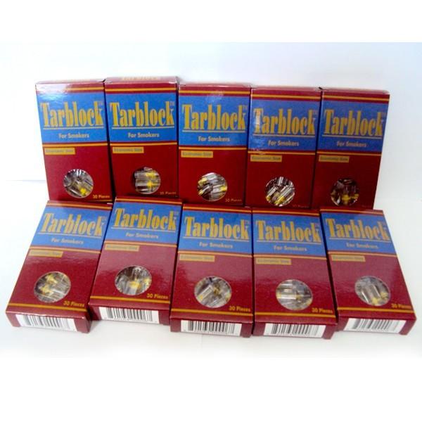 TarBlock Disposable Cigarette Filters-10 Packs