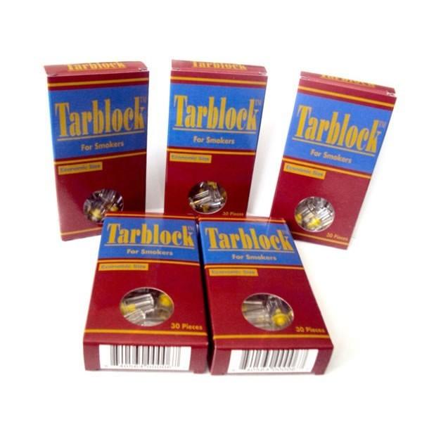 TarBlock Disposable Cigarette Filters-5 Packs