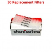 Denicotea Replacement Filters 50 Filters