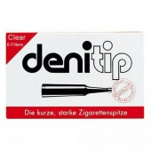 Denicotea Denitip Disposable Cigarette Filters - Clear