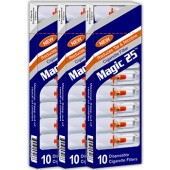 Magic25 Disposable Cigarette Filters - 3 Packs