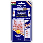 Magic25 Cigarette Filters (100 filters) - Value Pack