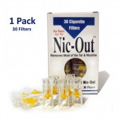 Nic-Out Disposable Cigarette Filters - 1 Pack