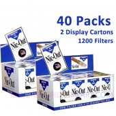 Nic-Out Disposable Cigarette Filters - 40 packs
