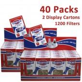 Nicstop Disposable Cigarette Filters - 40 Packs