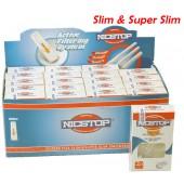 NICSTOP® Slim & Super Slim Cigarette Filters 20 Packs