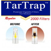 TarTrap Disposable Cigarette Filters - Bulk Economy Pack (2000 Per Pack)