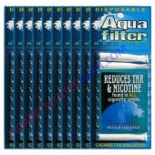 Aquafilter Cigarette Holder - 10 Packs ( 100 Pieces)