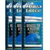 Aquafilter Cigarette Holder - 3 Packs ( 30 Pieces)