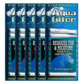 Aquafilter Cigarette Holder - 5 Packs ( 50 Pieces)
