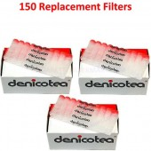 Denicotea Replacement Filters 150 Filters