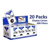 Nic-Out Disposable Cigarette Filters - 20 packs